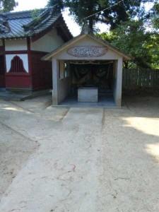 3番札所金泉寺の黄金の井戸