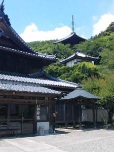 10番札所切幡寺の大塔
