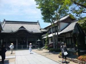 13番札所大日寺の本堂