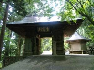 20番札所鶴林寺の山門