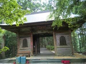 21番札所太龍寺の山門