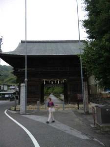 30番札所善楽寺の山門