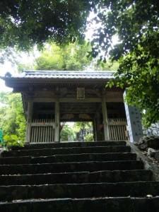 32番札所禅師峰寺の山門