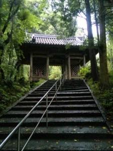 35番札所清瀧寺の山門