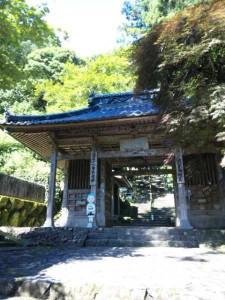 36番札所青龍寺の山門