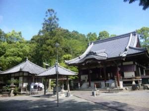 39番札所延光寺の境内