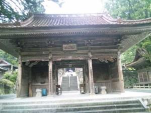 43番札所明石寺の山門