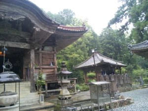 43番札所明石寺の本堂