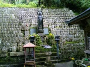 45番札所岩屋寺の地蔵菩薩像