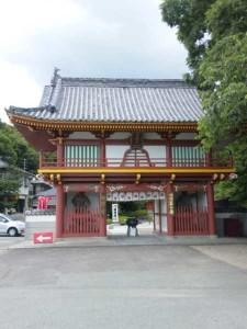 2番札所極楽寺の山門