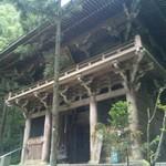 44番札所大寶寺の仁王門