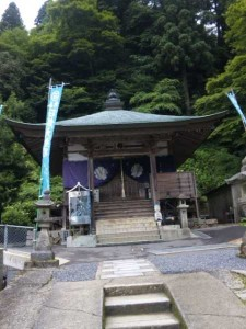 60番札所横峰寺の大師堂