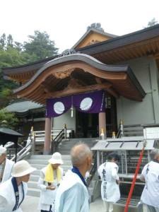 66番札所雲辺寺の本堂