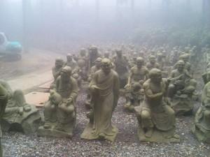 66番札所雲辺寺の五百羅漢