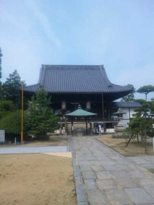 76番札所金倉寺の大師堂
