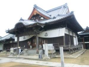 87番札所長尾寺の本堂