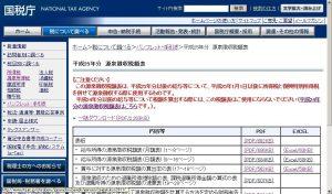 平成25年分 源泉徴収税額表|パンフレット・手引き|国税庁