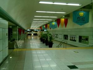 朝の豊橋駅