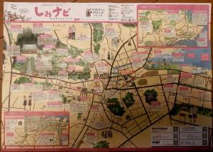 塩釜市観光マップ