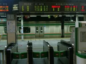 福島駅の改札