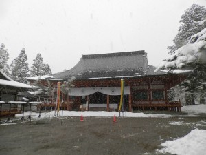 毛越寺の本堂