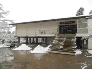 毛越寺の宝物館
