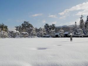 鶴ヶ城の本丸