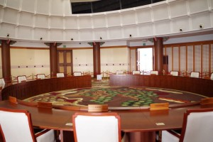 APEC円卓の会議場