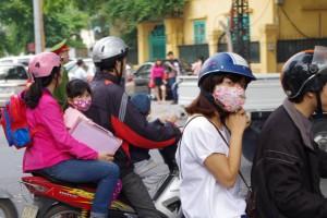 ベトナムのバイク集団