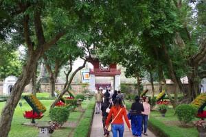 文廟の庭園