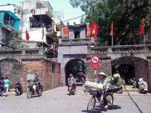 東河門(旧ハノイ城門)