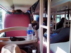 サイゴン行きスリーピングバス