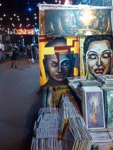 絵画を売る店