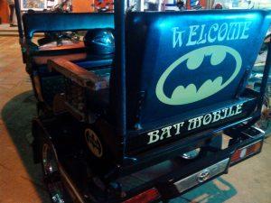 トゥクトゥクのバットマンカー