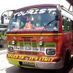 TATA社製のバス