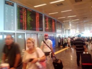 イスタンブルのアタテュルク国際空港