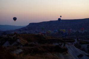 カッパドキアと熱気球