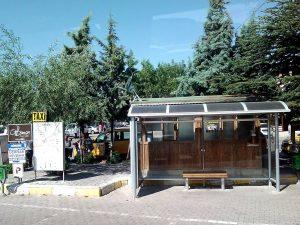 ネゴシュヒル行きバス乗り場