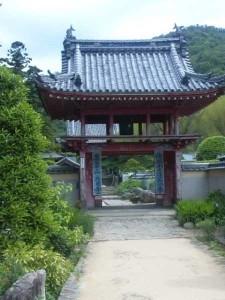 4番札所大日寺の山門