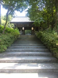 8番札所熊谷寺の中門