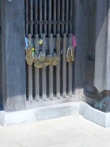 9番札所法輪寺の山門