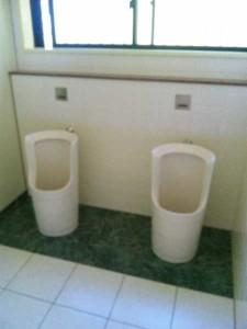 9番札所法輪寺のトイレ