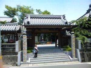 13番札所大日寺の山門