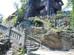 14番札所常楽寺の階段