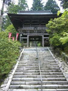 21番札所太龍寺本堂への階段