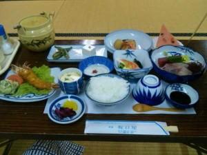坂口屋の夕食