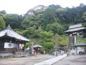 22番札所平等寺の本堂