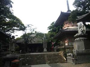 24番札所最御崎寺の多宝塔
