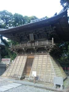 24番札所最御崎寺の鐘楼