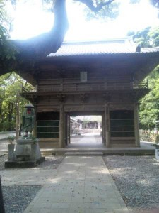 24番札所最御崎寺の山門
